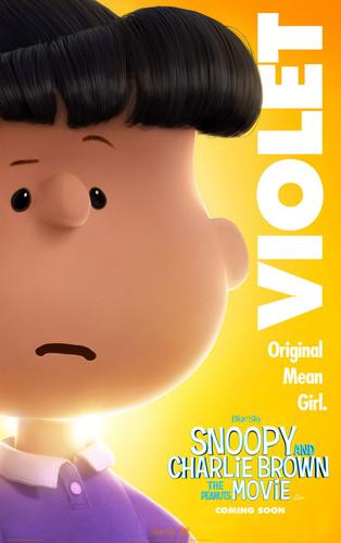 Peanuts wallpaper entitled Movie Poster: Violet