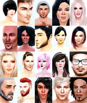 My The Sims 4 Cast Poster