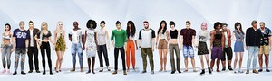 My The Sims 4 Cast Poster 2