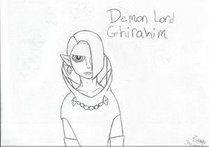 My drawing of Ghirahim