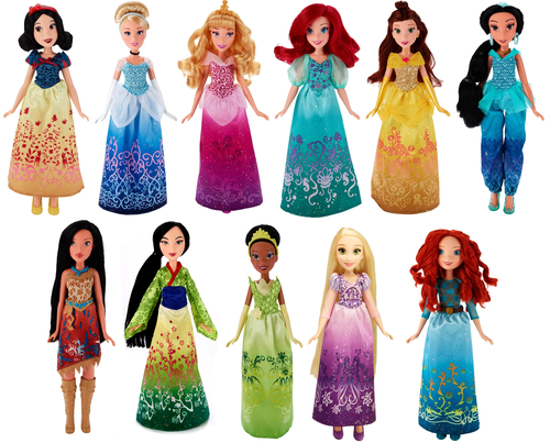 Princesses Disney fond d'écran titled New 2016 Hasbro DP poupées