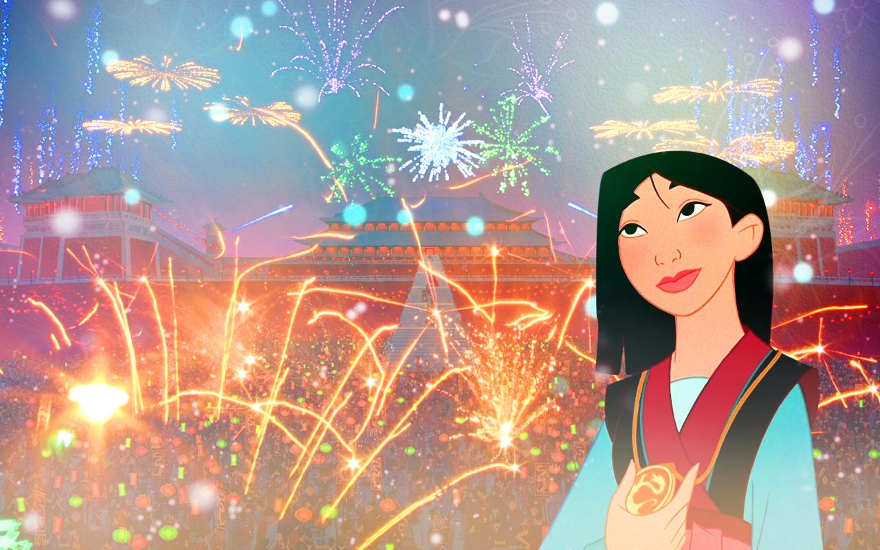 New Years Eve - Disney Princess Wallpaper (39170722) - Fanpop