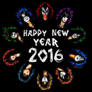 New Years KISS'es 2016