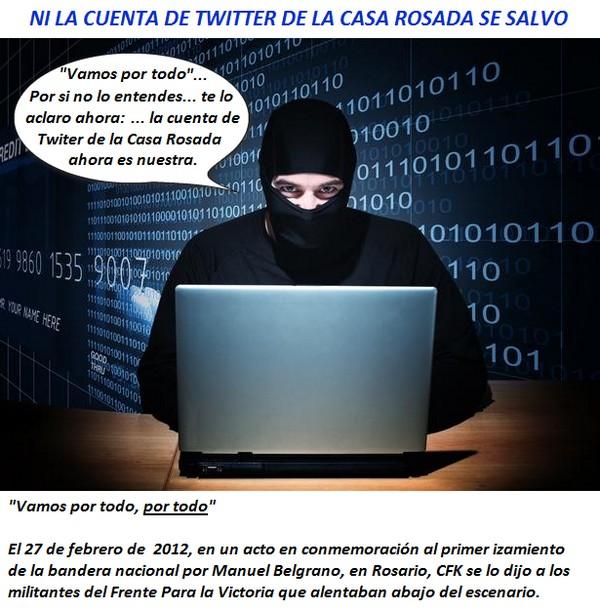 Ni Twiter Rosada se salvo robo