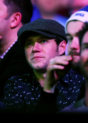 Niall at the William colina World Darts Championship