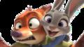 Nick and Judy Vector