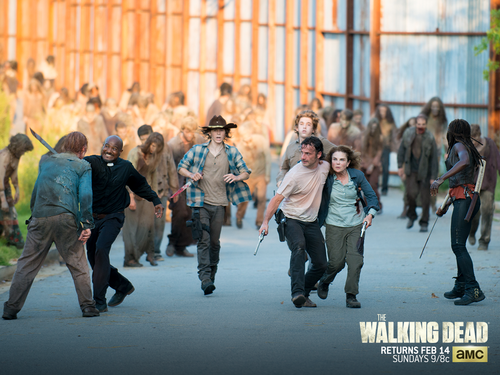 The Walking dead wallpaper containing a strada, via titled No Regrets