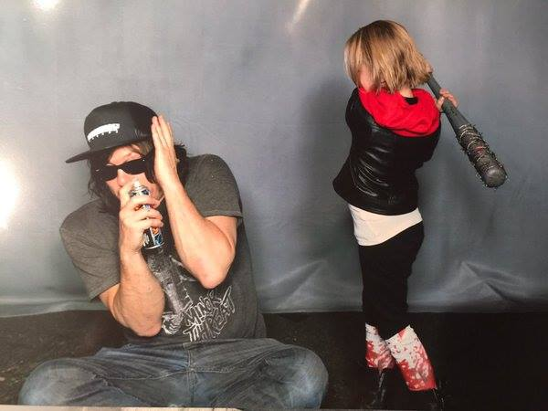 Norman getting Lucilled by Baby!Negan
