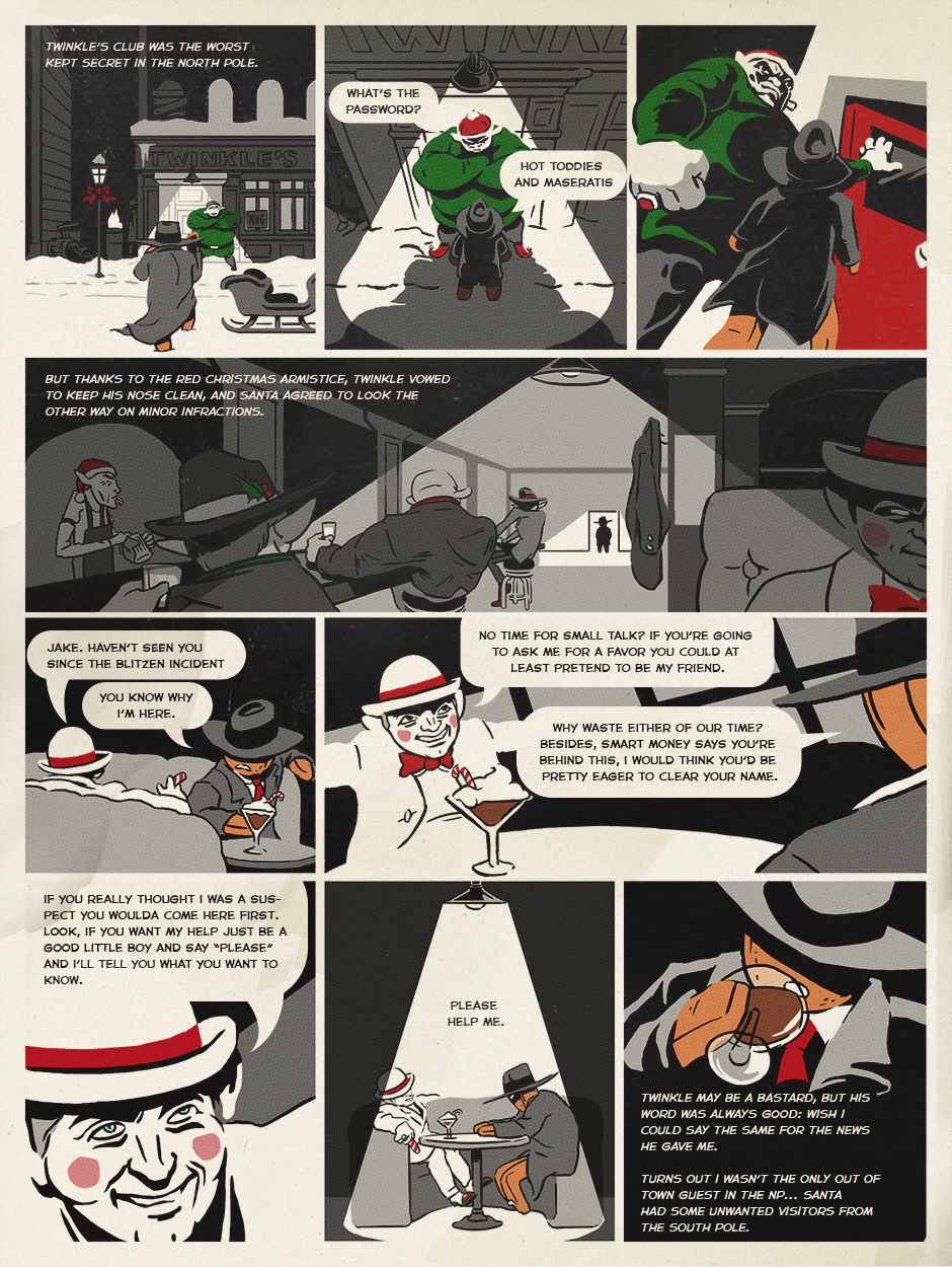 Northpole Noir: Page 5