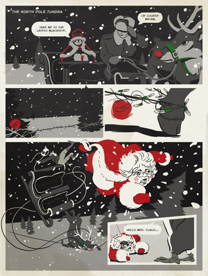 Northpole Noir: Page 9