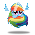 OMGOSH so cute Rainbow Dash my little pony friendship is magic 28577716 - my-little-pony-friendship-is-magic photo