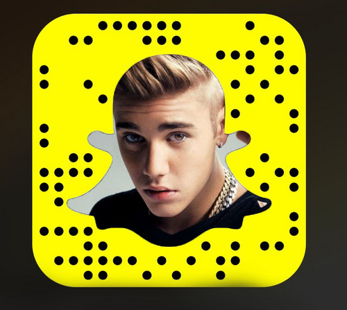Justin Bieber wolpeyper called Official Snapchat