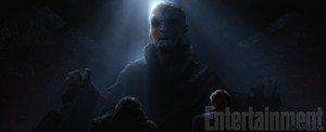 Official Stills of Supreme Leader Snoke
