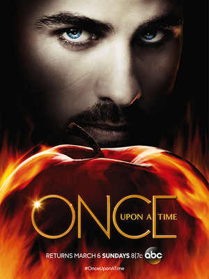 Once Upon a Time Season 5b Key art Poster