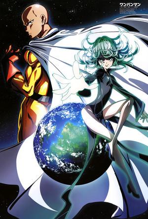 One Punch-Man (Saitama & Tatsumaki)
