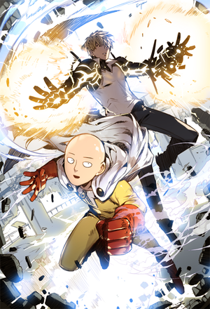 One stempel, punch Man