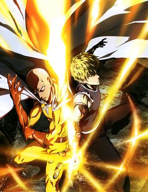 Onepunch man (Saitama & Genos)