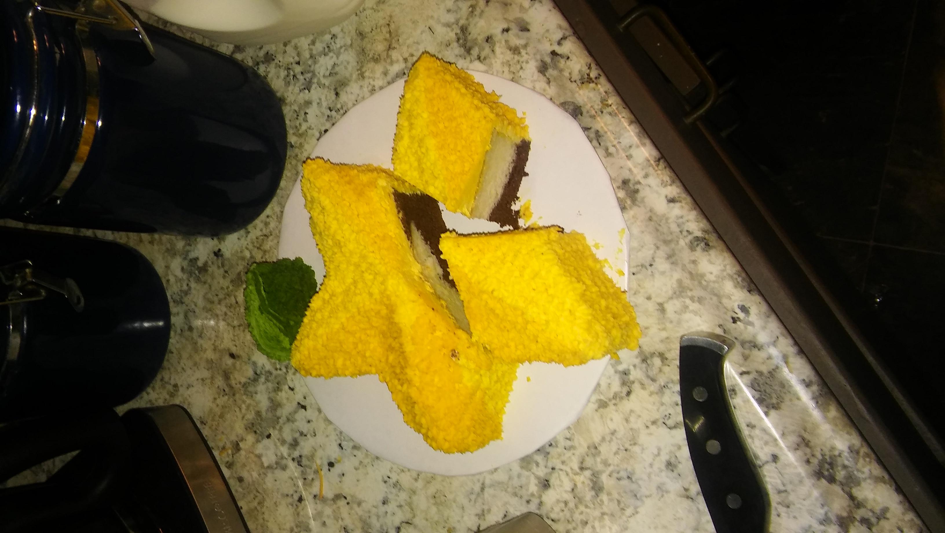 Paopu fruit cake!