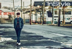 Park Seo Joon for 'InStyle'