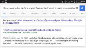 pasta Support