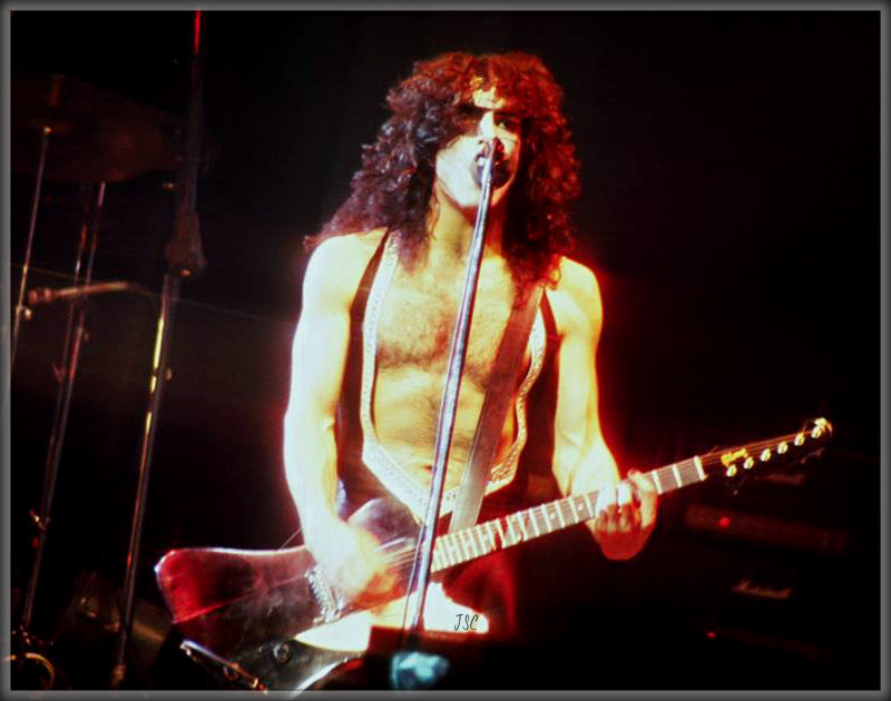 Paul ~Detroit, Michigan...January 27, 1977  Rock And Roll Over tour   Cobo Arena