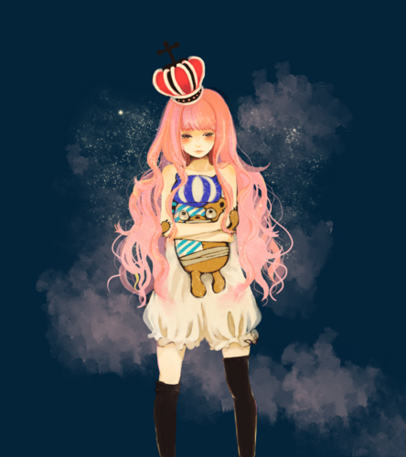 LittleMissBook wallpaper entitled Perona // One Piece