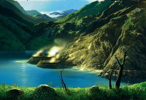 Princess Mononoke Scenery