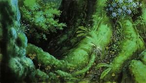 Princess Mononoke Scenery
