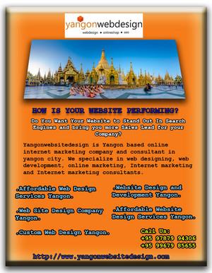 Quality Web Design Yangon