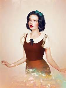 Realistic Snow White