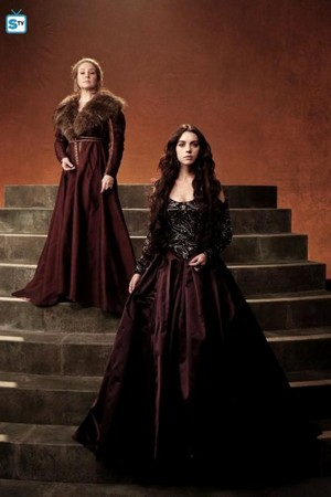 Reign Catherine and Mary Season 2 Promotional Picture