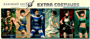 Resident Evil Zero Hd Remaster Extra Costumes