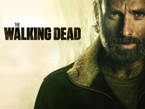 The Walking Dead wallpaper probably containing a portrait entitled Rick Grimes