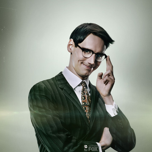 Gotham wallpaper with a business suit and a suit called Riddler Galaxy Tablet S wallpaper
