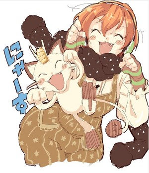 Rin Hoshizora // amor Live! School Idol Project