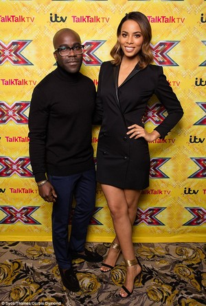 Rochelle at the X Factor final press conference