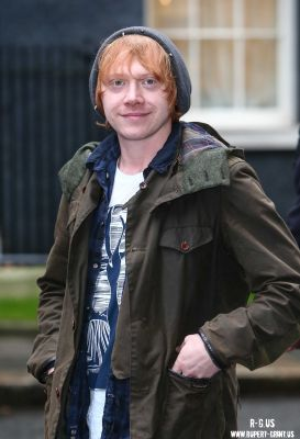 Rupert at Starlight Charity giáng sinh Party