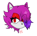 SONIC REVOLUTION: AME the Cat Headshot - sonic-fan-characters photo