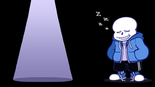 UNDERTALE-The Game wolpeyper entitled Sans wolpeyper