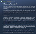 Scott - Moving forward (Proof fnaf world is the last game)
