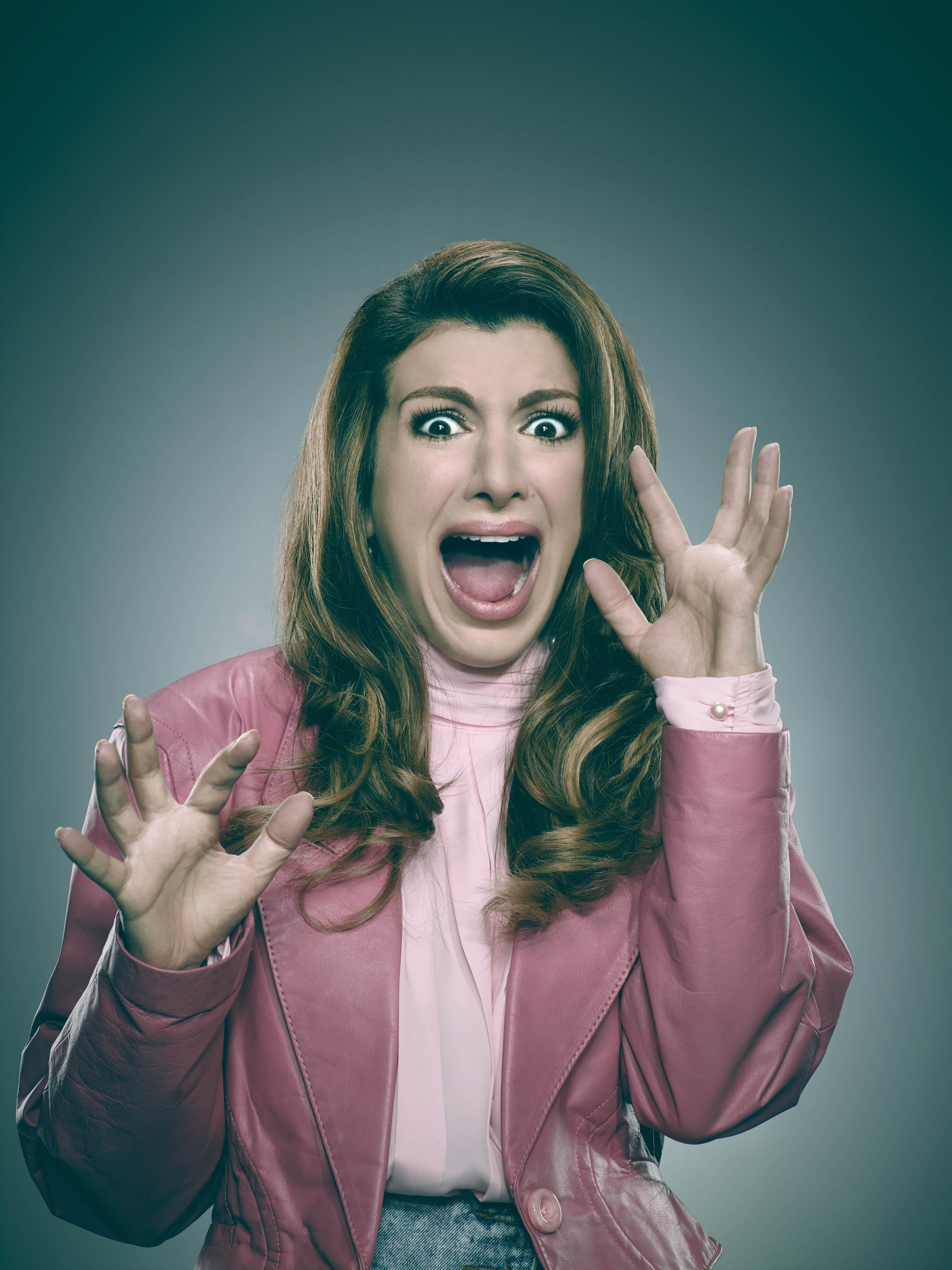 Scream Queens - Season 1 Portrait - Nasim Pedrad as Gigi Caldwell
