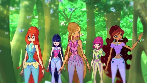 The Winx Club پیپر وال called Season 7-The Magic Of Fashion(Look 3)