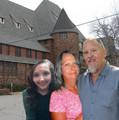 Shaylin Ruede, Grandma Redbird, and John Heffer - house-of-night-series photo