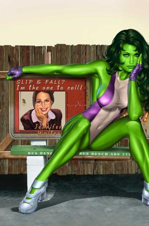 She Hulk vol 2 7 textless