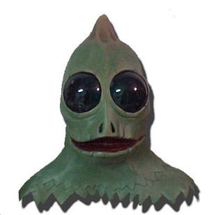 Sleestak mask (full head)