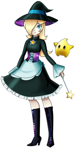 Rosalina and Luma - Halloween