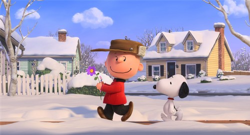 Peanuts wallpaper titled Snoopy and Charlie Brown
