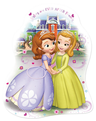 Sofia The First achtergrond titled Sofia and Amber