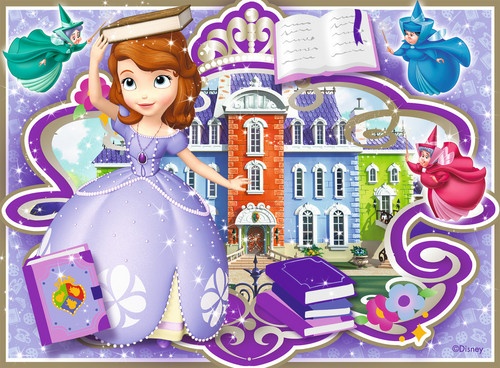 Sofia The First achtergrond probably with anime called Sofia the First