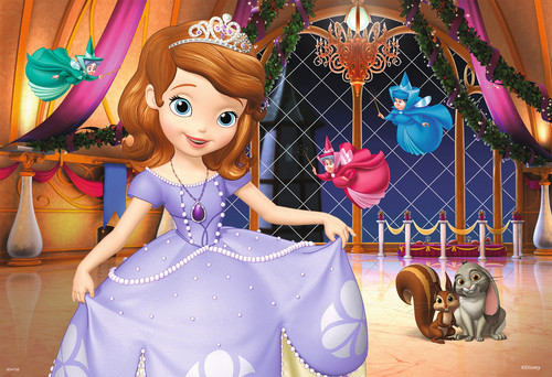 Sofia The First achtergrond probably with a bridesmaid and a bouquet titled Sofia the First